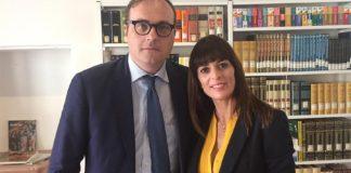 Tommaso Cerno e Elisa Boffa