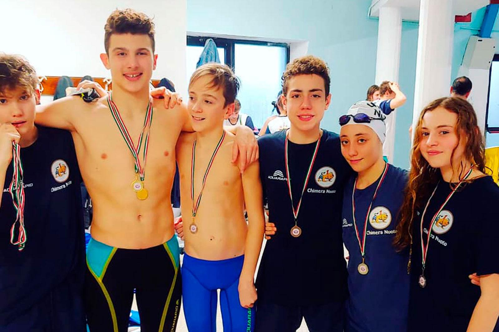 Chimera Nuoto - Trofeo Città di Pontedera