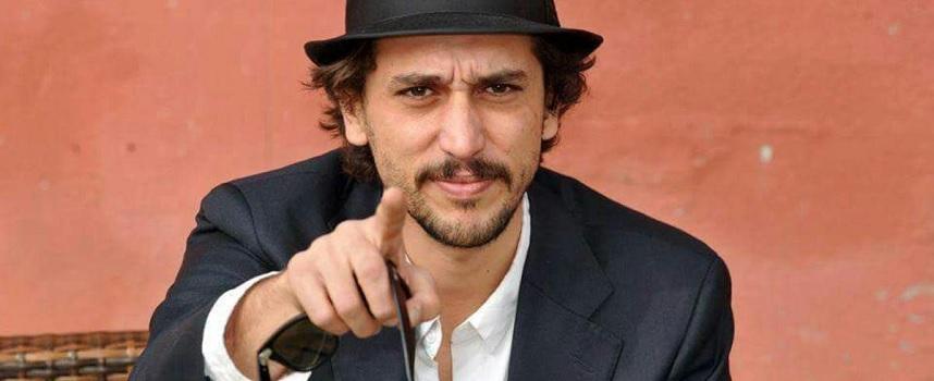 Lo scrittore Corrado Fortuna