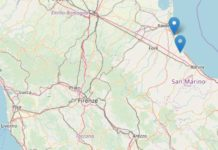 Terremoto magnitudo 4.6 a Ravenna