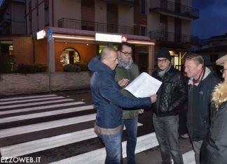 Vicesindaco Gianfrancesco Gamurrini- Strisce pedonali - led