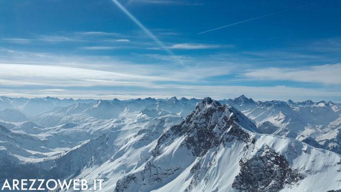 montagna - neve - alpi