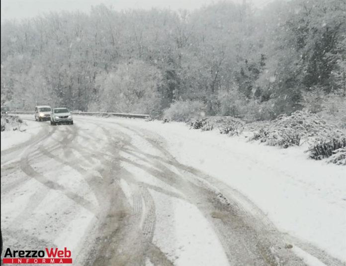neve e ghiaccio a Cavriglia - Valdarno
