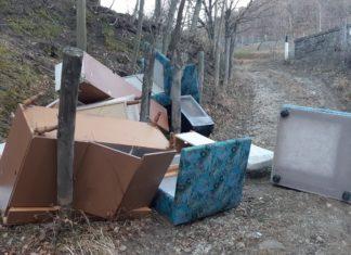 rifiuti abbandonati