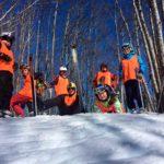 sciare a Campiglia - neve