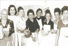 Donne in cucina a Cetica