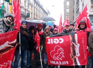 guardie giurate sciopero