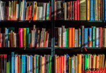 libri in bibblioteca