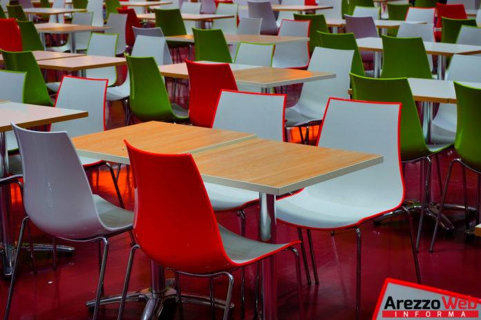 mensa - cucina - tavoli scuola