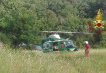 vigili del fuoco elicottero