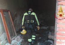 vigili del fuoco - casolare