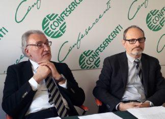 Mario Checcaglini e Mario Landini