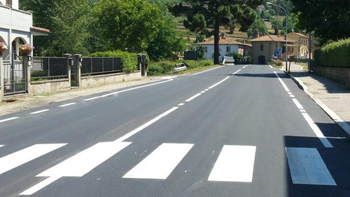 Rifacimento strada Palazzo del Pero