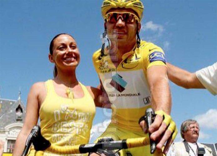 Rinaldo Nocentini con la moglie Manola Feirra