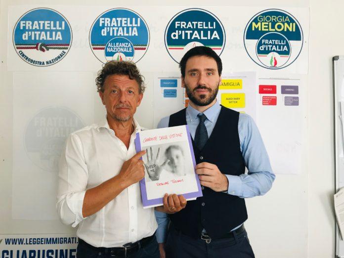 Ecco il Garante per le vittime di reati Paolo Marcheschi (Fdi) e l'avvocato penalista Edoardo Burelli,
