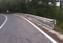 Nuove barriere di sicurezza sulla S.P. 208 dello Spino in vista della gara motociclistica del 21-22 settembre