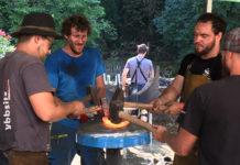 Biennale d'Arte Fabbrile di Stia: il Campionato del mondo di forgiatura entra nel vivo, in 300 da venti paesi