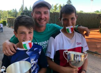 Il Tennis Giotto è campione d'Italia Under11 con Ciurnelli-De Vizia