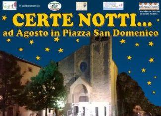 """Il Polvarone in :""""Certe notti"""" a San Domenico per Casa Thevenin 19-24 Agosto 2019"""""""