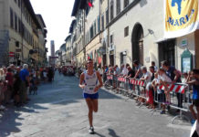 43° trofeo Siro Noferi : podio del Policiano con Tartaglini, Annetti e Mori