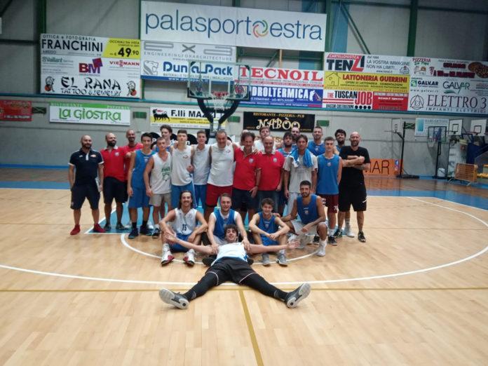 Coppa Toscana basket, domenica trasferta a Chiusi per l'Amen SBA