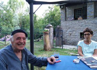 Franco Onali con la moglie Anna Roncoroni