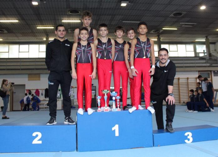 Montevarchi: ginnastica artistica campionati allievi Gold