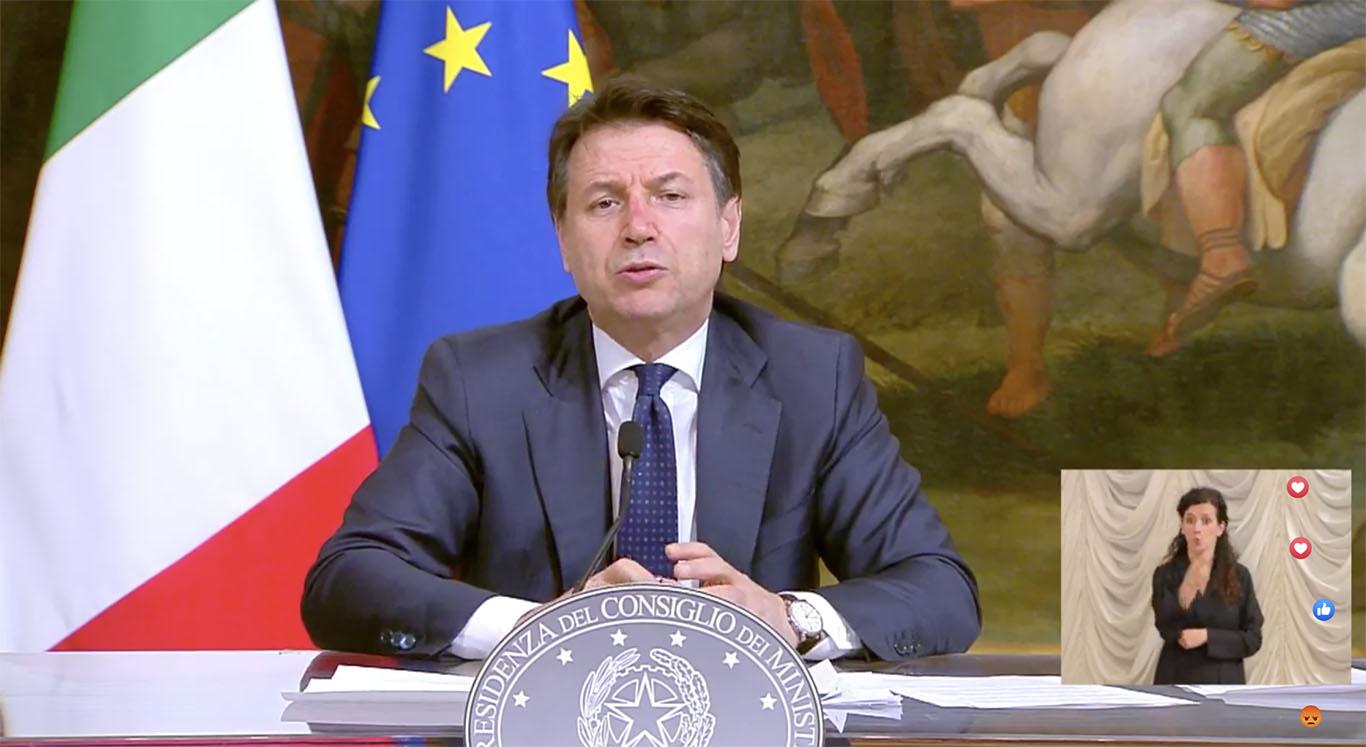 La Diretta Del Premier Conte Da Palazzo Chigi Italia In Stato Di Emergenza Fino Al 31 Luglio