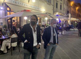 Alessandro Ghinelli e Beppe Angiolini