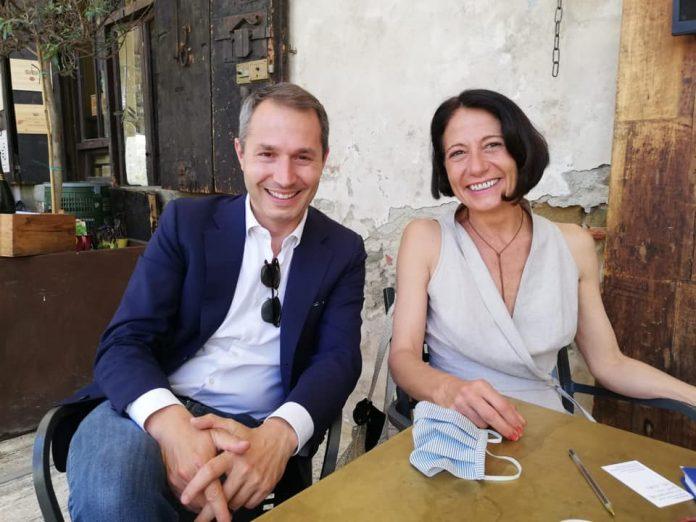 Marco Donati e Silvia Casi