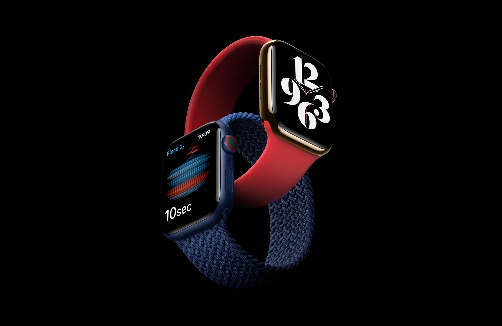 imballare mod Per legge  Apple Watch Series 6 ha nuove funzioni rivoluzionarie per il benessere e il  fitness - ArezzoWeb Informa