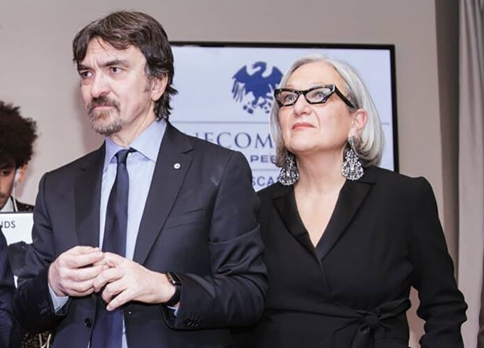 Franco Marinoni e Anna Lapini