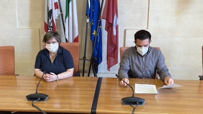 Lucia Tanti e Federico Scapecchi