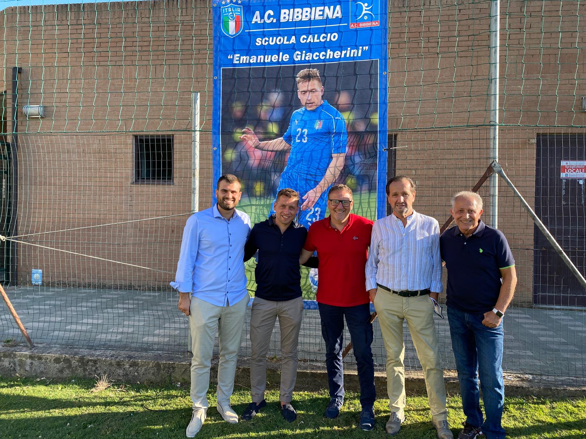 Emanuele Giaccherini torna nella sua Bibbiena e dà il nome alla Scuola  Calcio - ArezzoWeb Informa