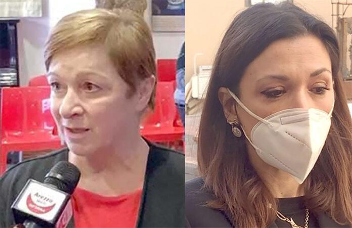 Donella Mattesini e Valentina Vaccari