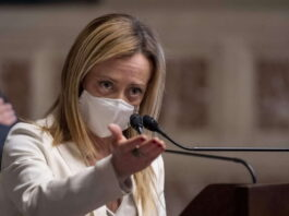 Giorgia Meloni - FOTO AGENZIA DIRE - www.dire.it
